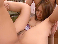 Hairy Japanese chick