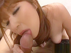 Sexy slut teases mature man