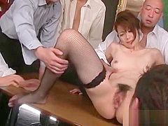 Oiled up massage with deep pussy fisting act