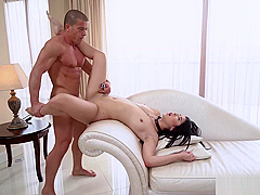 Asian babe Lady Dee likes fucking on a leash