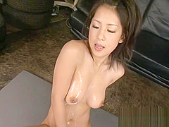 Two large cocks and a hot Asian