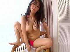 Toying massive tits asians cunt