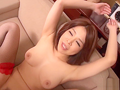 Examining asian babes anal tunnel