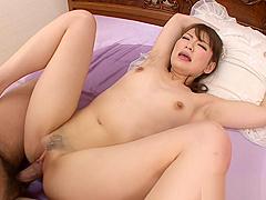 Asian babe love fat cocks