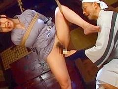 Japanese Kimono Bondage 03