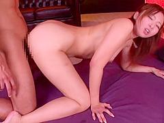 Admirable breasty Japanese mom Kaori featuring rimjob