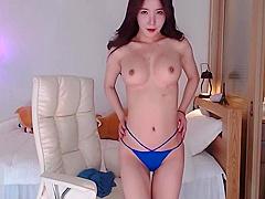 Korean beautiful Neat sensual show