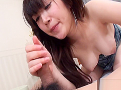 Hot tits asian wild toying