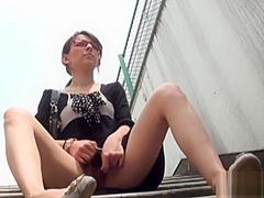 Fetish japanese babes pee