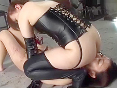 Nice nude Japanese girl severely tortured and whipped 1/2