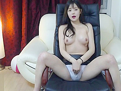 Korean lovely 18yo shows her sexy body
