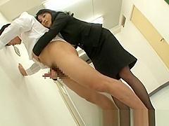 Natsumi Kitahara ass licks her man part4