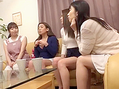Sexy friends of my wife visit our home - part 1