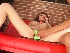 Horny Teen Japanese Slut Wearing Bikini Vibed By Egg