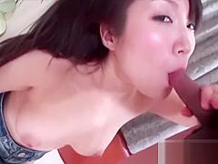 MilfPornAsia - Japanese girl gets filled hard uncensored (Part 1 of 2)