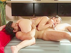 Japanesse in nuru massage gives pleasure to horny client 09