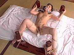 Japanese schoolgirl bondage & sexual assault 01