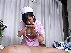 Nurses Jerk Their Patents
