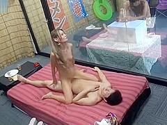 Magic Mirror bikini Wife And Husband's Friend Challenge FuckGame MEI004.2