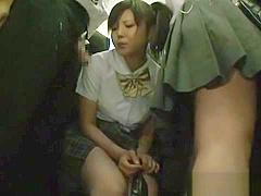 Hot public sex in Japan