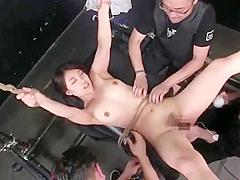 japanese bondage tickling orgasm