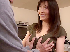 Hottest Japanese slut Eriko Miura in Crazy couple, wife JAV video