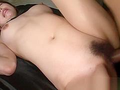Bushy japanese babe