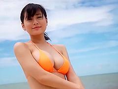 Rin Tachibana orange Bikini [ Softcore ]
