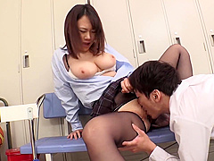 Pantyhose Abuse in Classroom