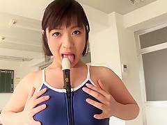 Amazing Japanese model Wakaba Onoue in Best college, big tits JAV movie