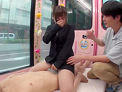 Crazy adult scene Japanese wild only here