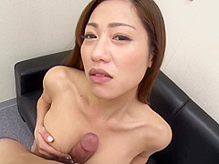 Kitayama Kanna Drilling A Nymphomaniac Busty Ol In Office