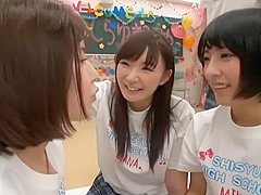 japanese schoolgirl lesbian orgy