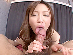 Aiko Hirose bukkake orgy - JAV, japanese, uncensored, stockings, petite, pov, blowjob
