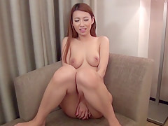 Fabulous Japanese chick Mai Yuzuki in Incredible blowjob, couple JAV video