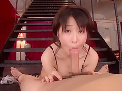 Hottest Japanese girl Arisa Misato in Crazy pov, couple JAV clip