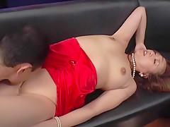 Exotic Japanese model Misuzu Natsukawa in Amazing couple, cougar JAV clip