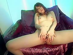 Incredible Japanese chick Akiho Yoshizawa in Horny solo girl, masturbation JAV clip