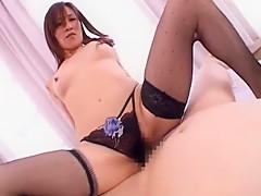Fabulous Japanese slut Sumire Kisaki in Hottest Stockings/Pansuto, POV JAV clip