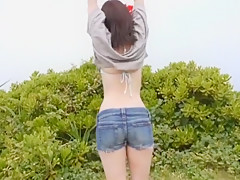 Horny Japanese chick An Shinohara in Crazy Outdoor, Beach JAV video