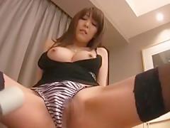 Horny Japanese slut Yuuna Ozawa, Yuu Yasuda, Rinka Aiuchi in Fabulous Masturbation/Onanii, Dildos/Toys JAV video