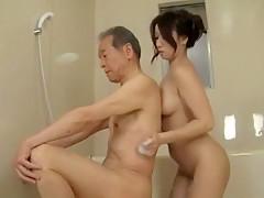 Best Japanese model Ayumi Wakana in Incredible Showers, Big Tits JAV scene