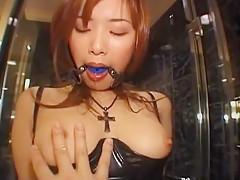 Exotic Japanese girl Yua Aida in Incredible Dildos/Toys, Stockings/Pansuto JAV clip