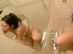 【痴女】発情期のメスはお風呂で我慢することが出来ない