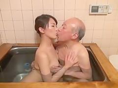 Incredible Japanese whore Aoki Misora in Horny Showers, Oldie JAV clip