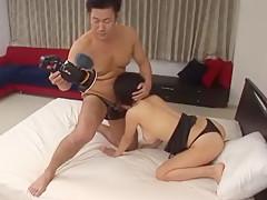 Horny Japanese chick Yuzuka Kinoshita in Amazing Fingering, Cunnilingus JAV movie