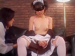 Incredible Japanese slut Sayaka Nishina in Fabulous Dildos/Toys, Maid/Meido JAV video