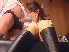 Crazy Japanese slut in Best Fingering JAV scene