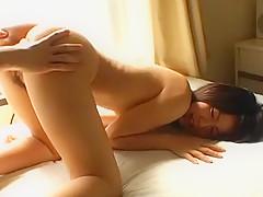 Horny Japanese chick Nana Nanaumi in Best Cunnilingus, Small Tits JAV scene