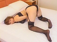 Amazing Japanese slut Nana Mochizuki in Horny Fingering, Lingerie JAV movie